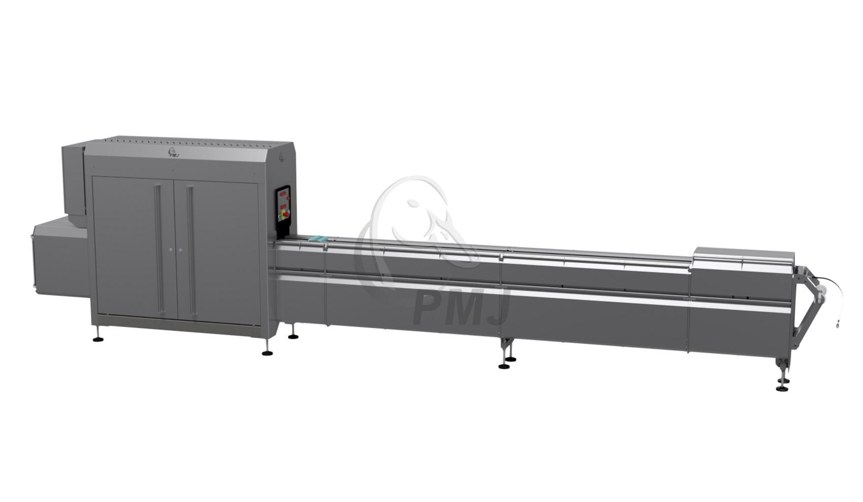 Giblet pack bagger - Grading and packing